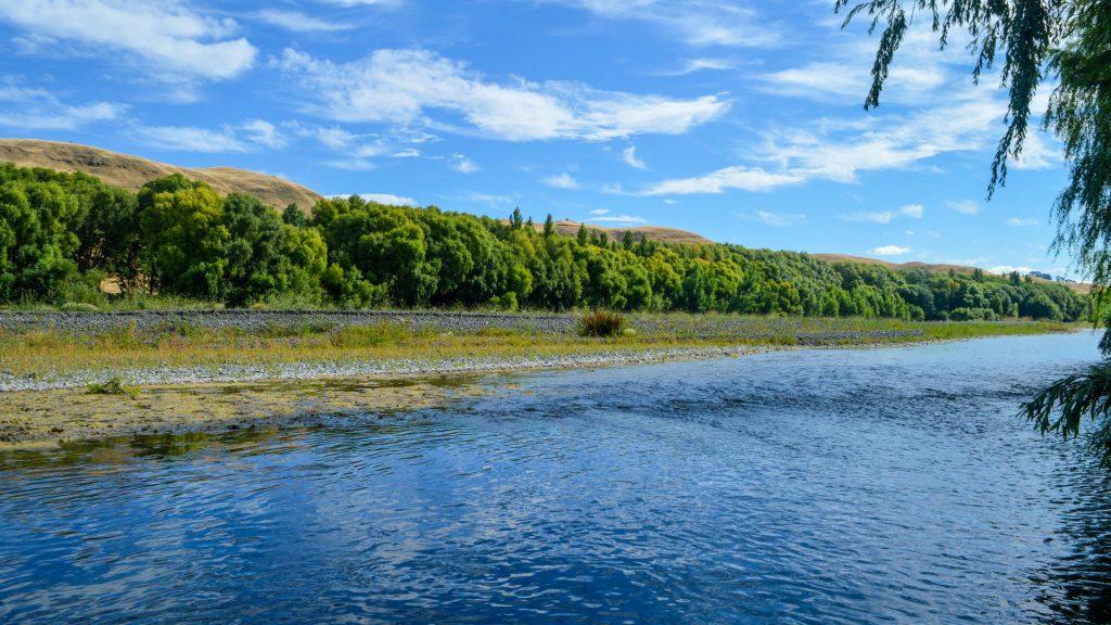 Tutaekuri River in Hawkes Bay NZ
