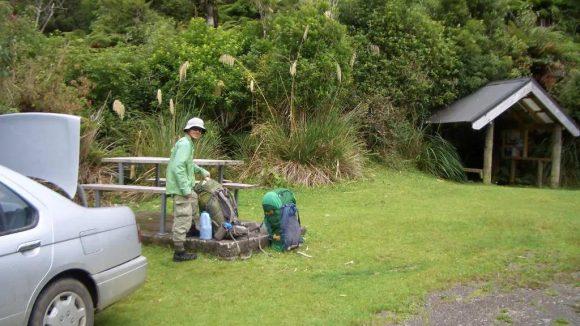 Fly fishing at Te Urewera National Park