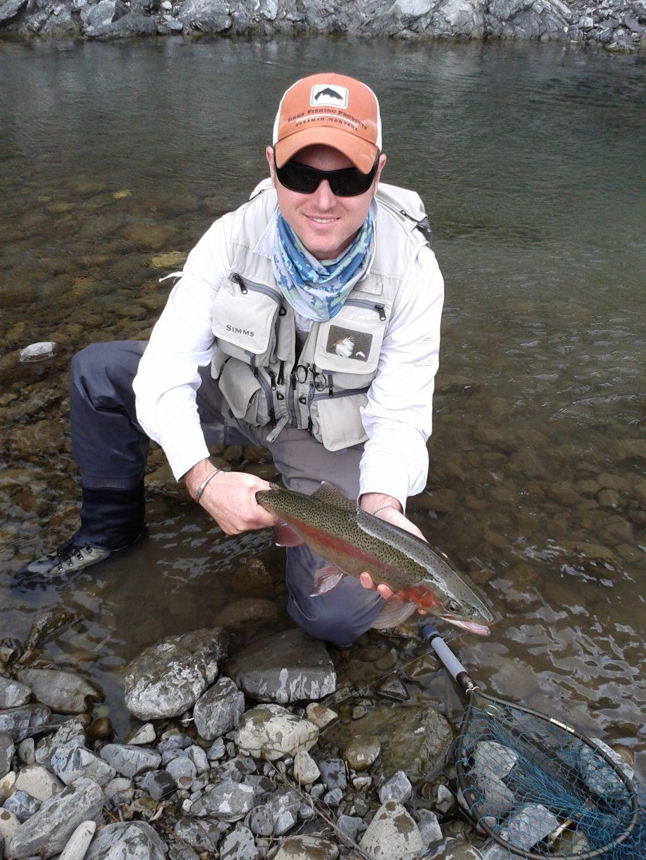 Glen Roberts fly fishing Napier Hawkes Bay New Zealand