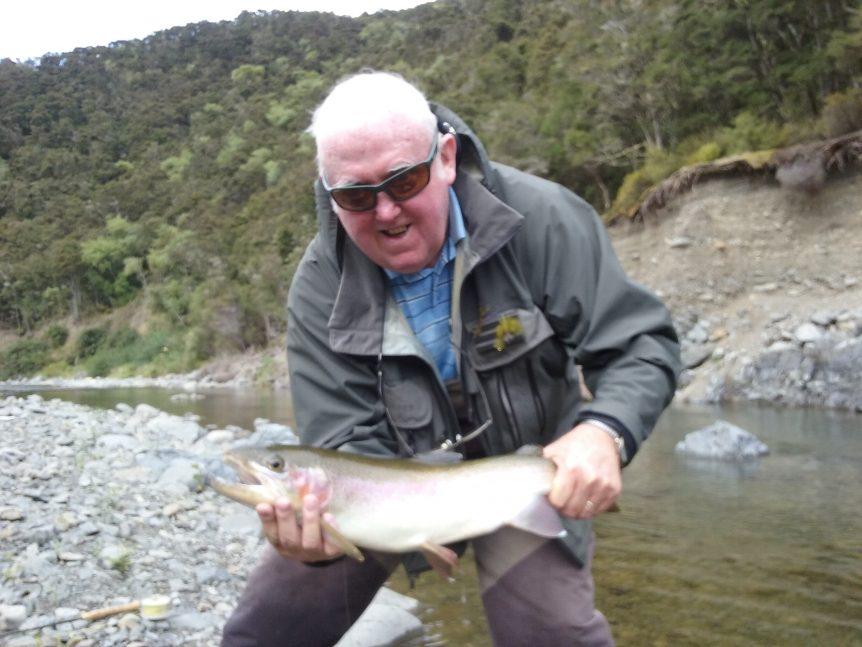 Gerry Hartigan backcountry fly fishing trip in Hawkes Bay