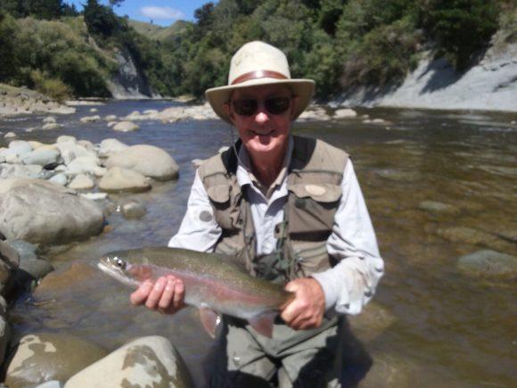 Dennis Long and Ken revisiting Hawkes Bay