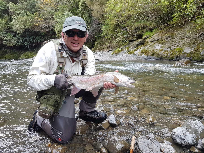 Hawkes Bay fly fishing guide Tony Hildesheim