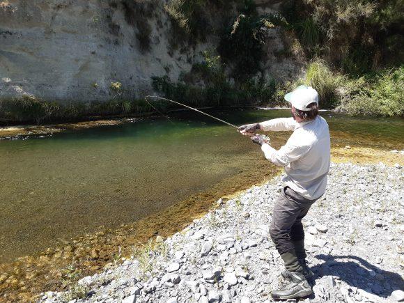 Tim Crouch on Tutaekuri river