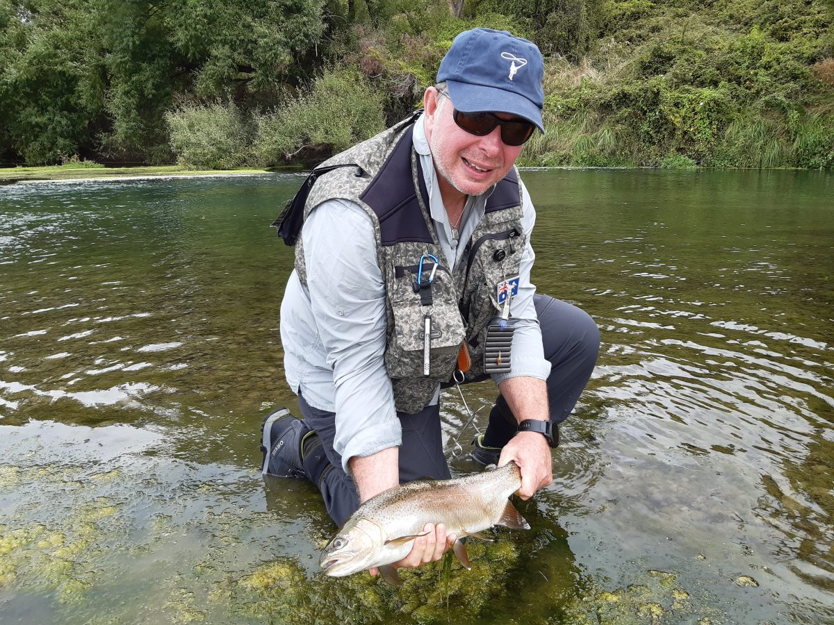 First time fly fishing in Hawkes Bay, just out of Napier NZ