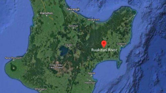 Ruakituri River Map on River Fishing NZ