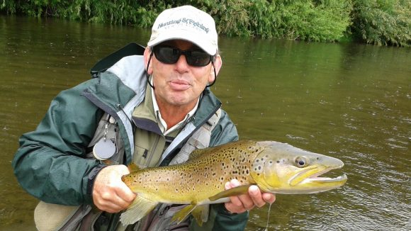 Tony the top New Zealand fly fishing guide