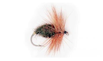 Parachute Adams trout fly