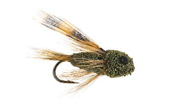 Cicada trout fly