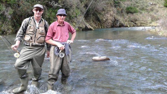 ly fishing Mohaka River NZ
