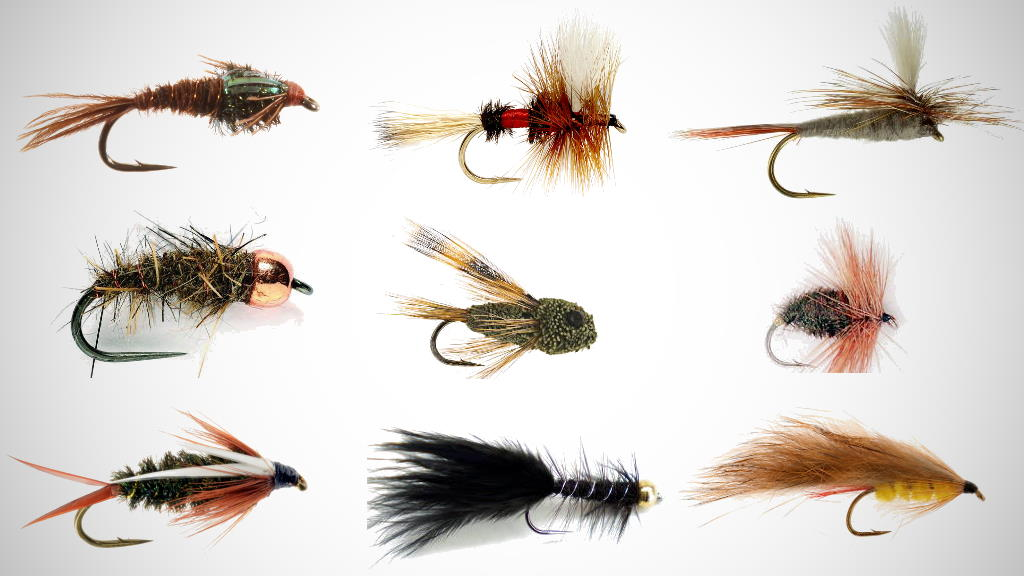 Top trout fishing flies for Hawkes Bay